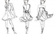 Designer Black And White Dresses For Women 9 Desktop Wallpaper