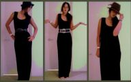 Dress Up Plain Black Dress 15 Wide Wallpaper