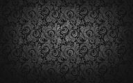 Floral Wallpaper With Black Background 37 Background Wallpaper