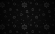 Floral Wallpaper With Black Background 9 Widescreen Wallpaper