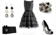 Formal Black And White Dresses For Women 7 High Resolution Wallpaper