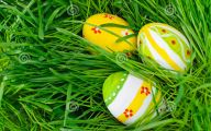 Green And Black Easter Eggs 8 Desktop Background