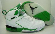 Green And Black Jordans 1 Desktop Background