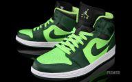 Green And Black Jordans 2 Background