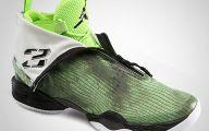 Green And Black Jordans 30 Background