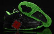 Green And Black Jordans 31 Widescreen Wallpaper
