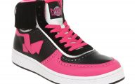 Hot Pink And Black Shoes 13 Wide Wallpaper
