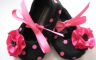 Hot Pink And Black Shoes 18 Background