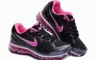 Hot Pink And Black Shoes 3 Background Wallpaper