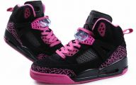 Hot Pink Black Shoes 2 Cool Wallpaper