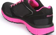 Hot Pink Black Shoes 7 Hd Wallpaper