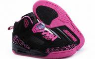 Hot Pink Black Shoes 8 Widescreen Wallpaper