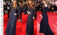 Long Plain Black Dress 11 Widescreen Wallpaper
