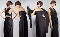 Long Plain Black Dress 14 Free Hd Wallpaper