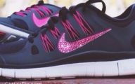 Nike Pink And Black Shoes 1 Cool Hd Wallpaper
