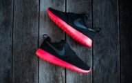 Nike Pink And Black Shoes 14 Hd Wallpaper