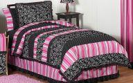 Pink And Black Bedding 2 Desktop Wallpaper