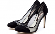 Pink And Black Dress Shoes 19 High Resolution Wallpaper