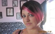 Pink And Black Hair 39 Background