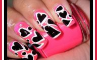 Pink And Black Nail Designs 11 High Resolution Wallpaper