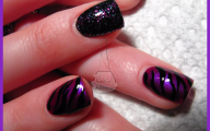 Pink And Black Nail Designs 22 Background Wallpaper