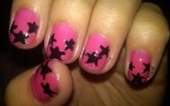 Pink And Black Nail Designs 26 Widescreen Wallpaper