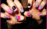 Pink And Black Nail Designs 28 Widescreen Wallpaper