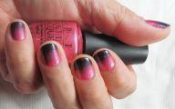 Pink And Black Nail Designs 3 Desktop Background