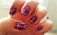 Pink And Black Nail Designs 33 Free Hd Wallpaper