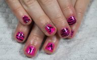 Pink And Black Nail Designs 4 Free Wallpaper