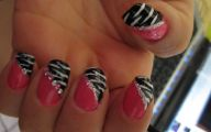 Pink And Black Nail Designs 6 Wide Wallpaper