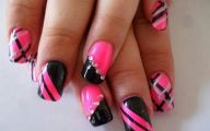 Pink And Black Nail Designs 8 Hd Wallpaper