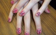 Pink And Black Nail Designs 9 Wide Wallpaper