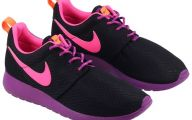 Pink And Black Nikes 19 Background Wallpaper