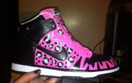 Pink And Black Nikes 3 Widescreen Wallpaper