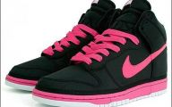 Pink And Black Nikes 4 Desktop Background