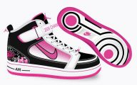 Pink And Black Nikes 5 Hd Wallpaper