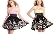 Pink And Black Prom Dresses 8 Widescreen Wallpaper