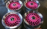 Pink And Black Rims 15 Background