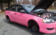 Pink And Black Rims 22 Hd Wallpaper