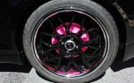 Pink And Black Rims 24 Widescreen Wallpaper