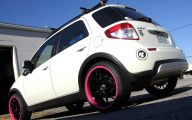 Pink And Black Rims 26 Wide Wallpaper
