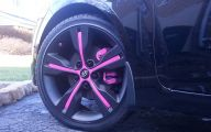 Pink And Black Rims 38 High Resolution Wallpaper