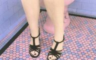 Pink And Black Sandals 27 Free Hd Wallpaper