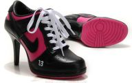 Pink And Black Shoes Heels 1 Desktop Wallpaper