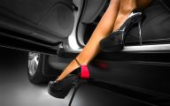 Pink And Black Shoes Heels 16 Hd Wallpaper