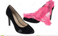 Pink And Black Shoes Heels 6 Hd Wallpaper