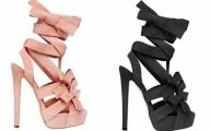Pink And Black Shoes Heels 7 Hd Wallpaper