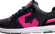 Pink And Black Sneakers 20 Background Wallpaper