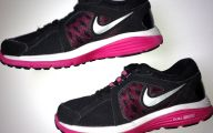 Pink And Black Tennis Shoes 14 High Resolution Wallpaper